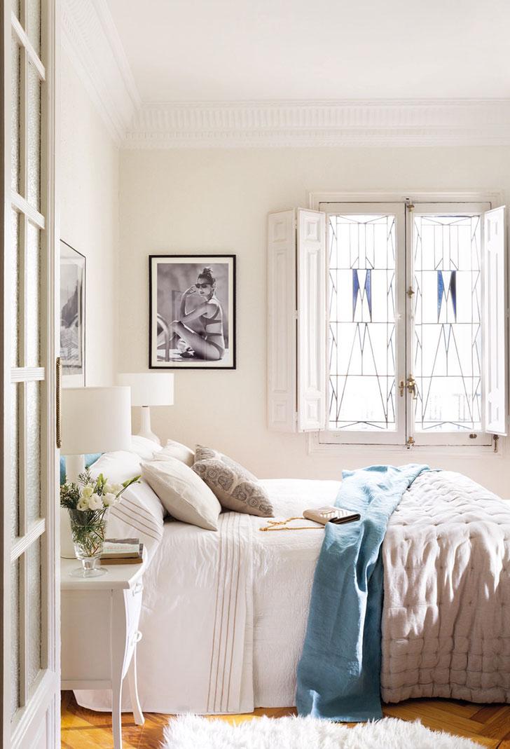 Приятная квартира модели и блогера Moni Moleskine в Мадриде   kvartira modeli moni moleskine v madride pufikhomes 6