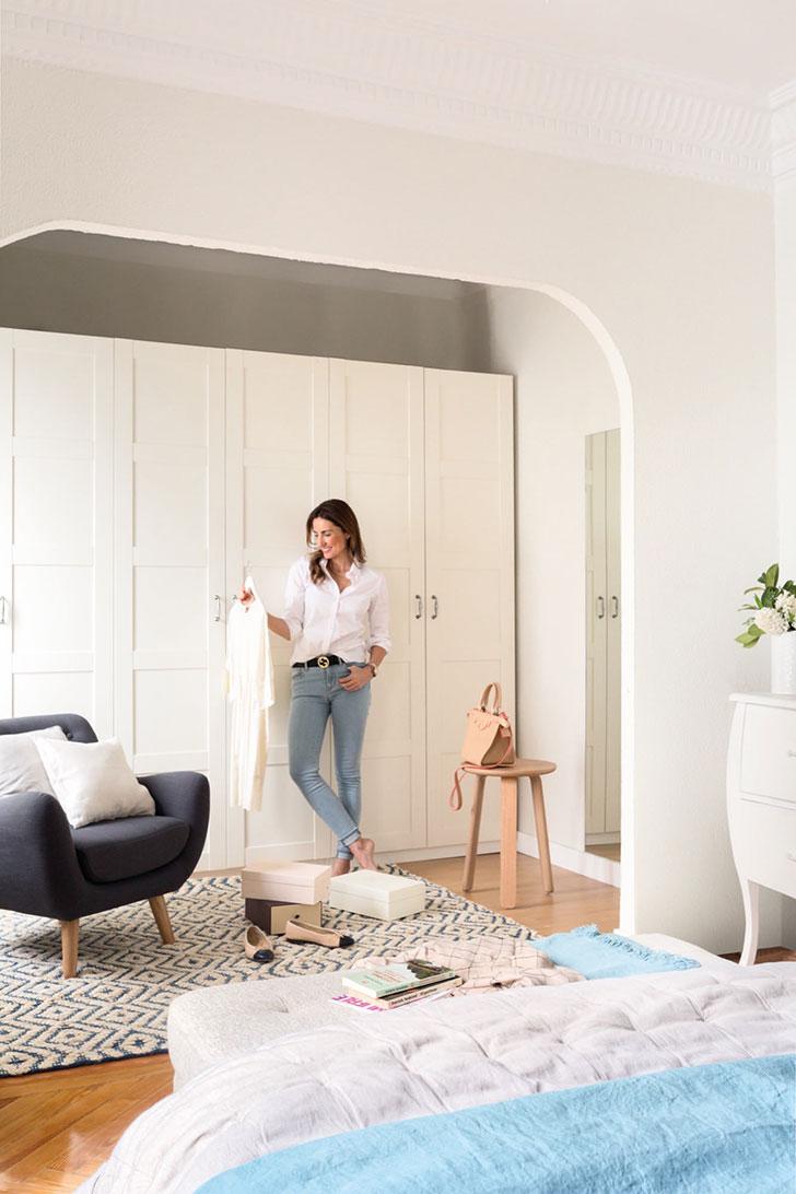 Приятная квартира модели и блогера Moni Moleskine в Мадриде   kvartira modeli moni moleskine v madride pufikhomes 8