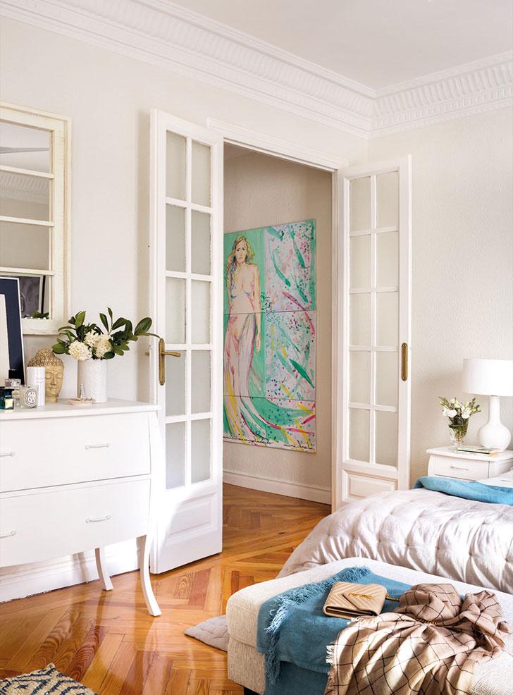 Приятная квартира модели и блогера Moni Moleskine в Мадриде   kvartira modeli moni moleskine v madride pufikhomes 9