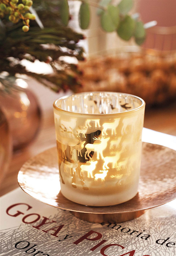 Чудесное Рождество в золотых оттенках в Испании