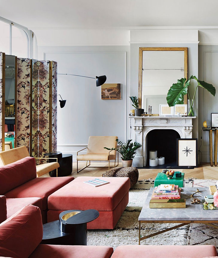 Soho Apartments: Jenna Lyons' Eclectic And Glamorous Apartment In Manhattan