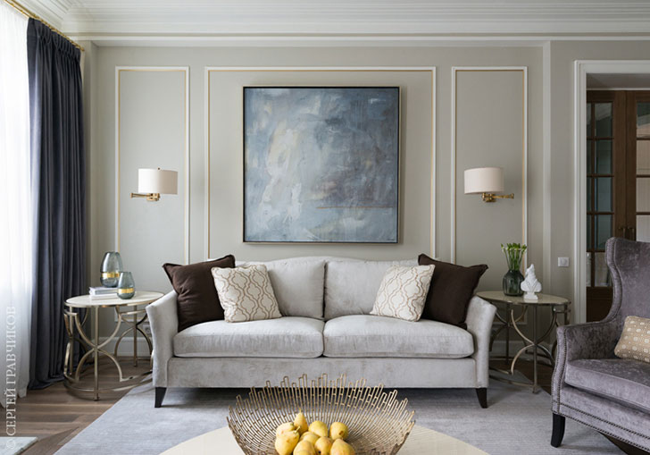 Merveilleux ... Lighter And More Modern, Taking Into Account The Size Of The House. The  Result Of Her Work U2013 A Bright And Elegant Home In A Calm And Gentle Color  Range.