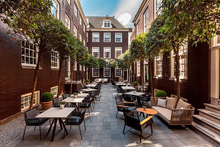 Камерный и уютный отель The Dylan в Амстердаме