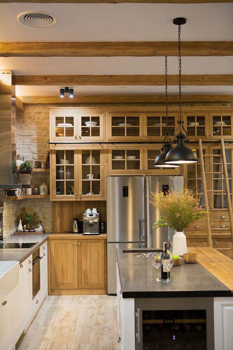 Наш первый проект: Дом в стиле американского ранчо в Киеве