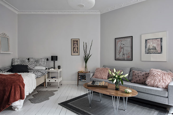 Romantic Small Flat Overlooking The Courtyard 38 Sqm