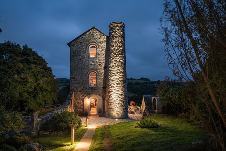 Дом в здании старинной шахты в Англии, который можно арендовать на выходные