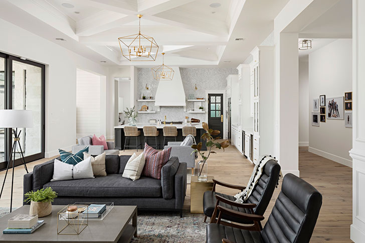 American style in interior design. Ideas and inspirations on ...