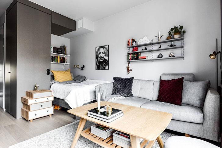 Compact Life On 30 Sqm 〛 Photos Ideas Design