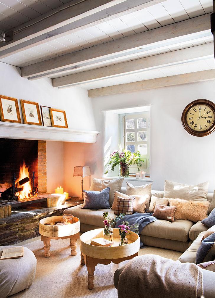 Прекрасный зимний дом в Пиренеях   idealnyi zimniy dom v pireneyah pufikhomes 1