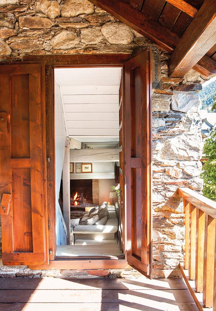 Прекрасный зимний дом в Пиренеях   idealnyi zimniy dom v pireneyah pufikhomes 9