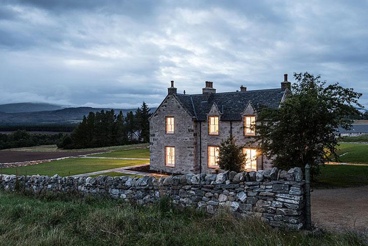 Отель-охотничий домик Killiehuntly в Шотландии