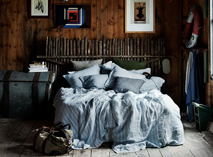 Вдохновение на лоне природе: красивый текстиль от Lovely linen