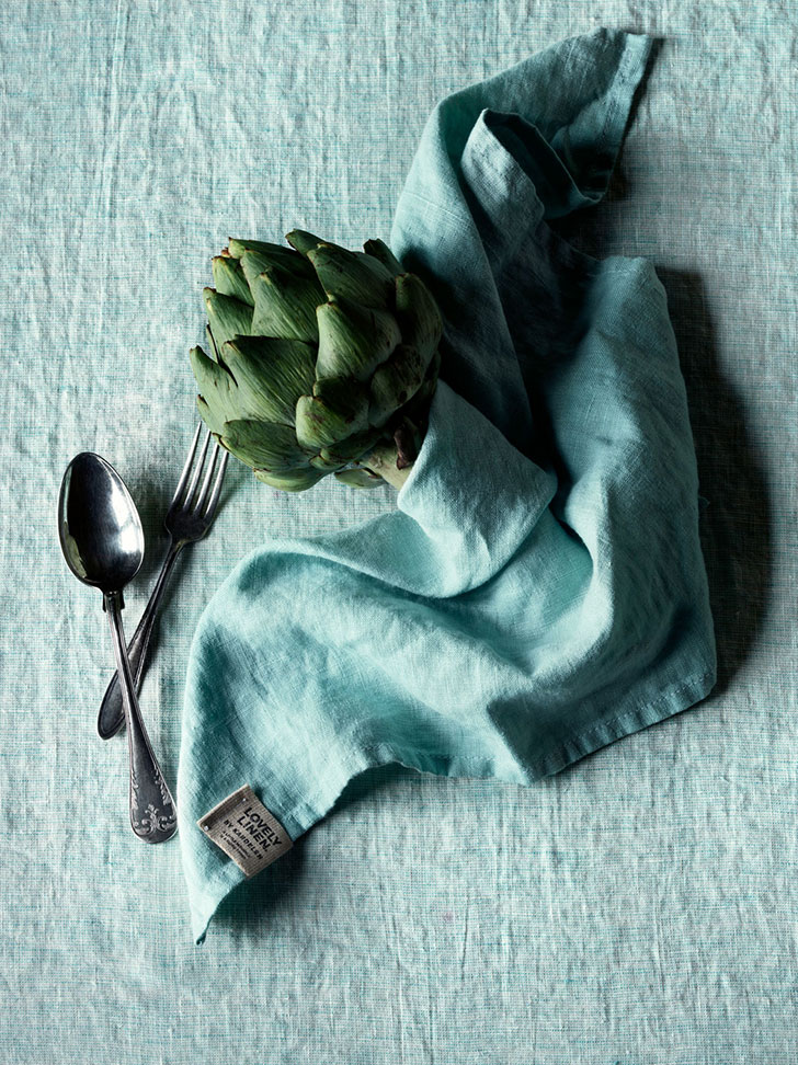 Natural inspiration: beautiful textiles from Lovely linen