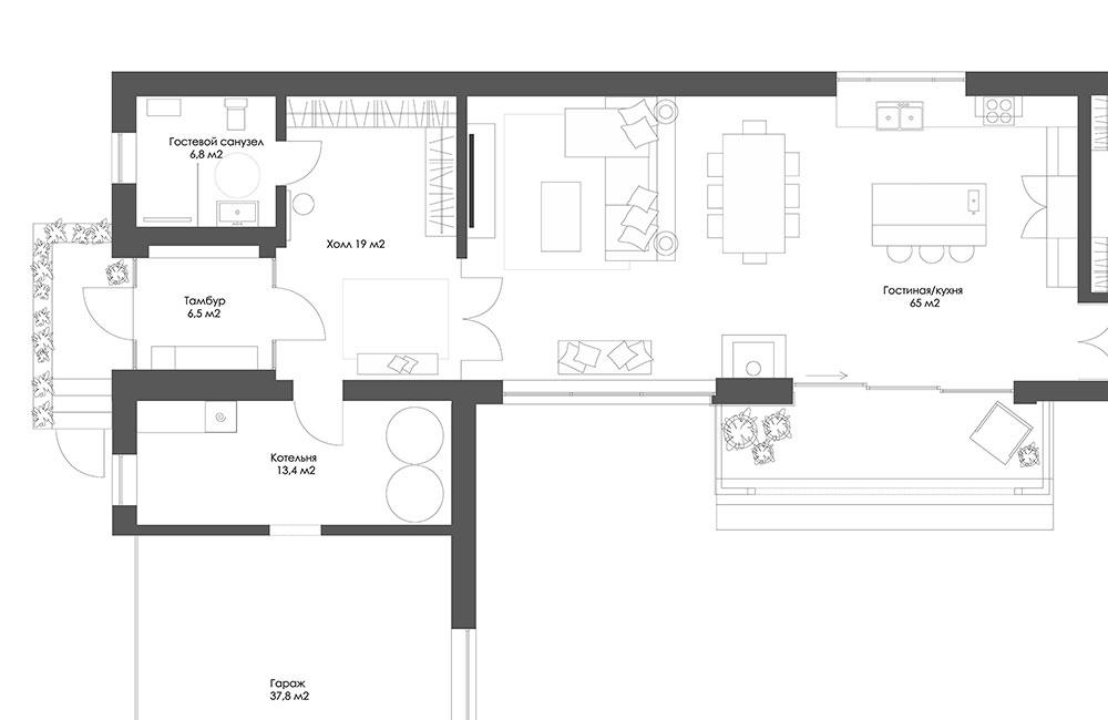 Наш первый проект: общая зона
