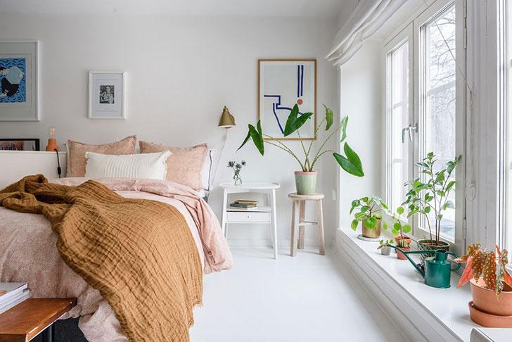 Душевный интерьер небольшой квартиры в Стокгольме (40 кв. м)