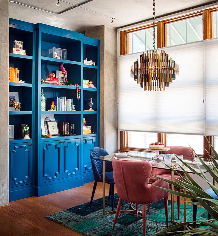 New York Loft With Touches Of Color Photos Ideas Design