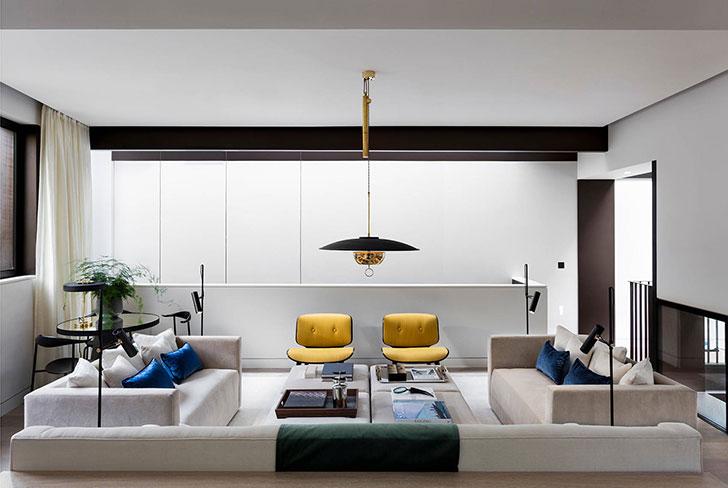 English minimalism modern townhouse in london pufik for Minimalist townhouse design
