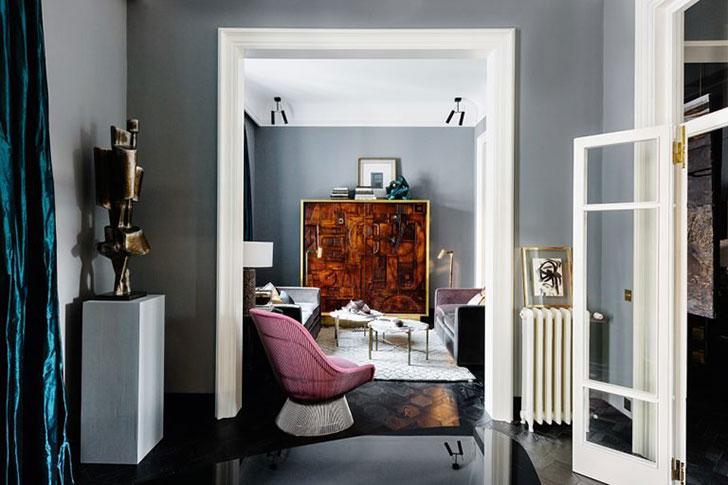 Эклектичная квартира для творческих людей во Флоренции