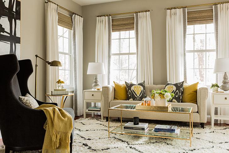 Дом в США: приятная современная классика и яркие детали