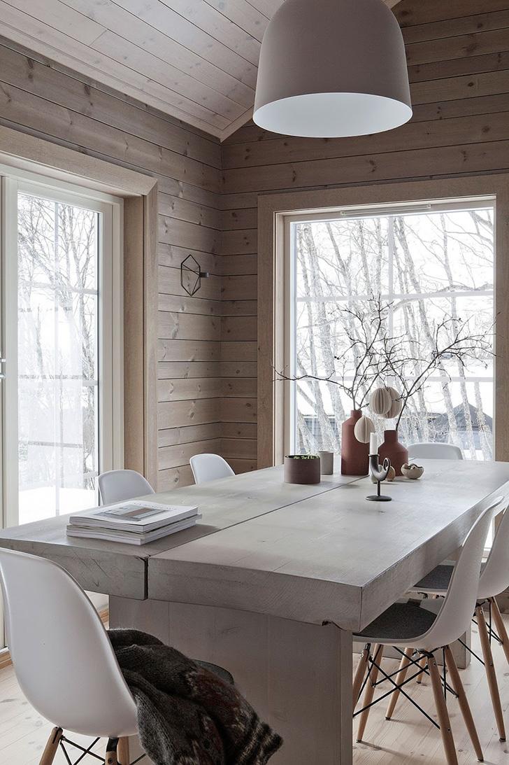 Воплощение зимнего уюта: коттедж в Норвегии