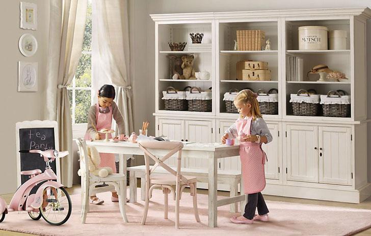детская комната в стиле французский прованс