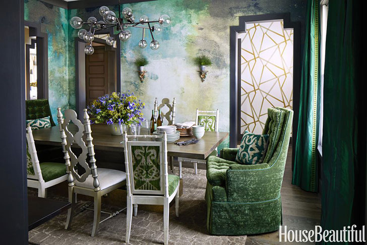 Eclectic Designers Home In Atlanta Inspired By The The 70s