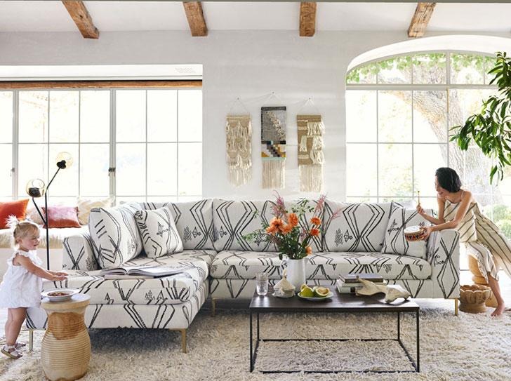 Весенняя коллекция мебели и декора от Anthropologie Home