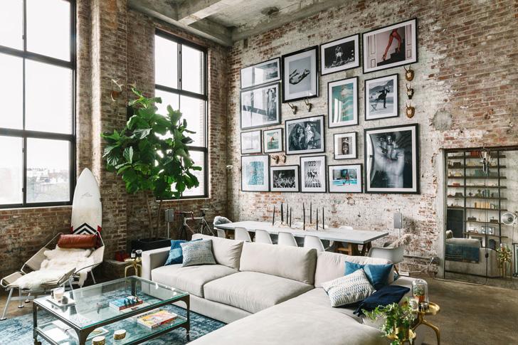 Стиль лофт в интерьере квартиры - особенности дизайна