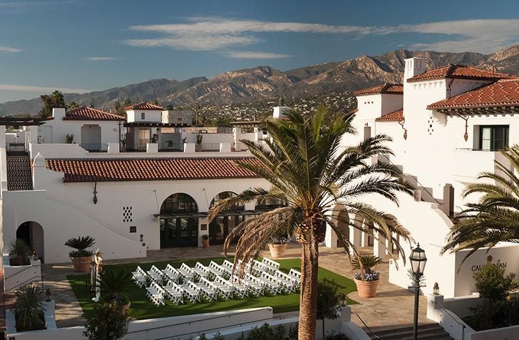 Отель Californian, вдохновленный Средиземноморьем и Марокко