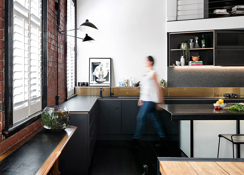 Owners Of This Loft Apartment In Melbourne Australia Wanted The Home To Be And Consistent With Character Building Also One