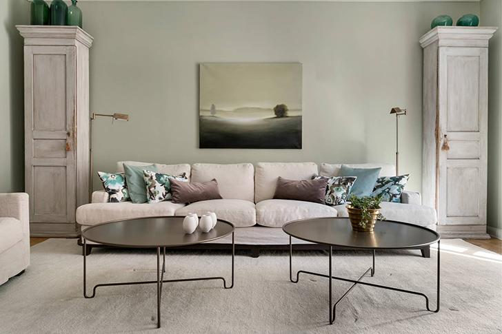Vintage details and pastel colors: cozy apartment in Sweden ...