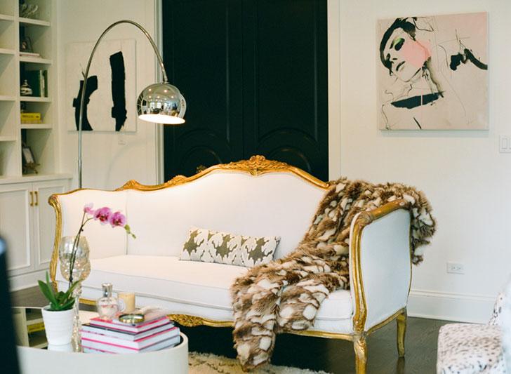 мебель бохо - фото
