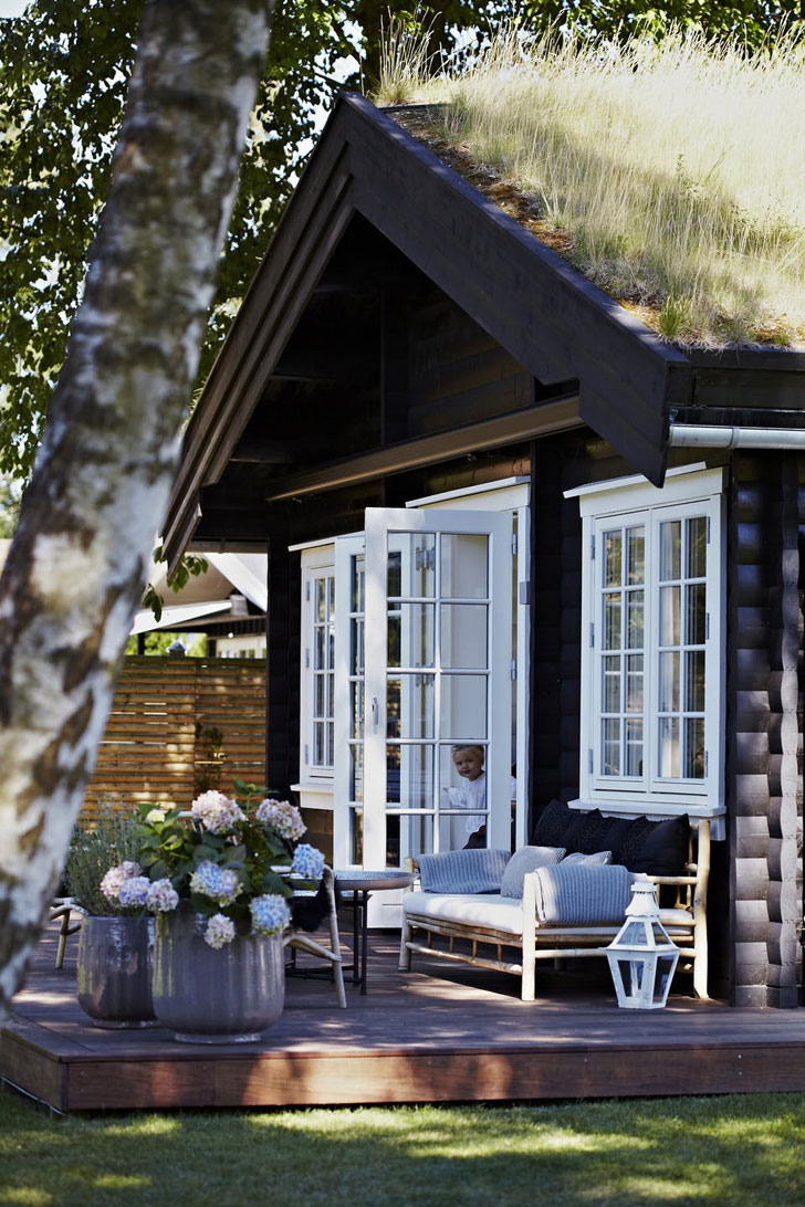 Загородный дом в скандинавском стиле - фото