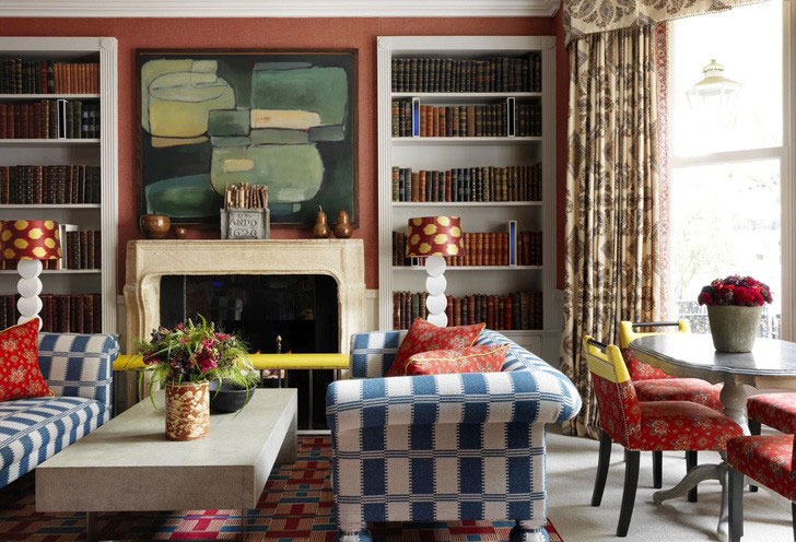 English style in interior design: welcome to the home of real gentleman