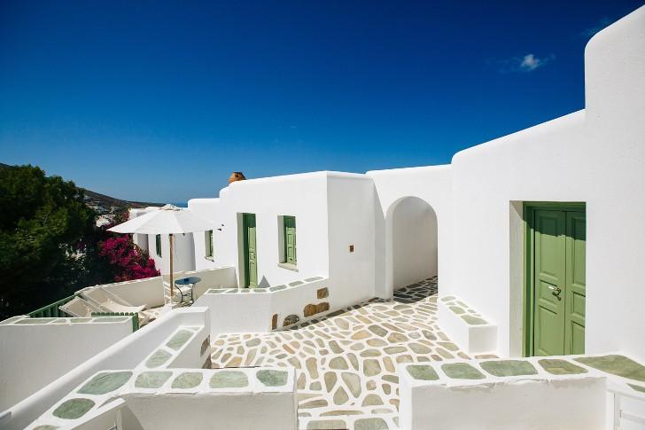 дом в средиземноморском стиле - фото