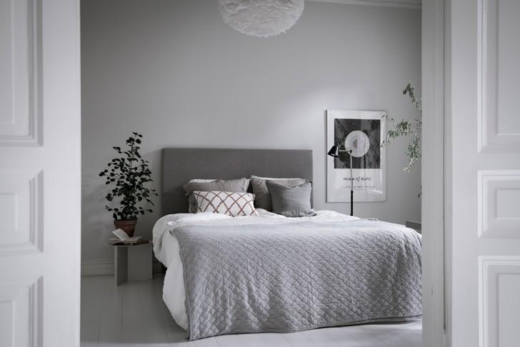 интерьер спальни - фото
