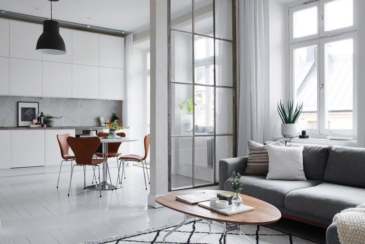 Скандинавский стиль в интерьере: дизайн с нордическим характером | Пуфик - блог о дизайне интерьера