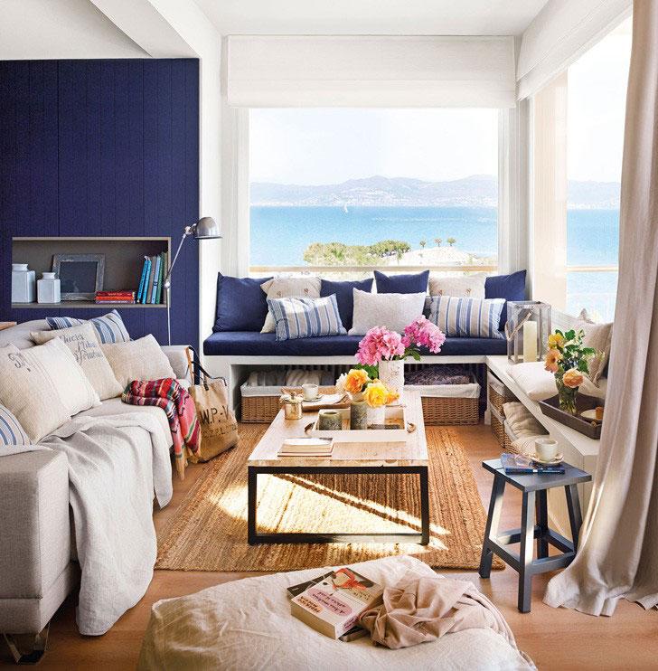 интерьер комнаты в средиземноморском стиле фото