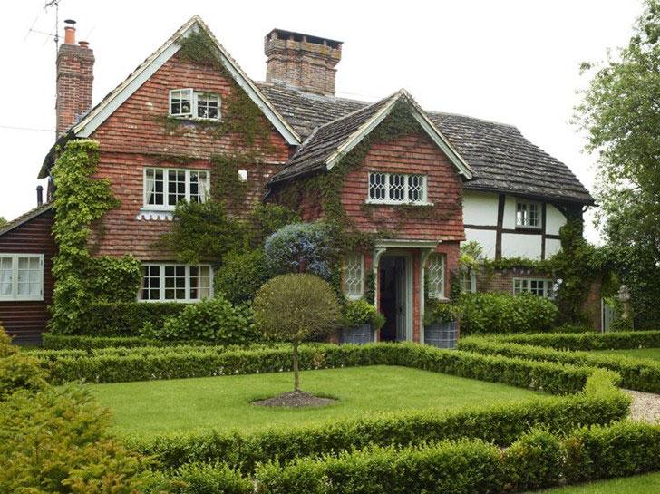 дом в английском стиле - фото