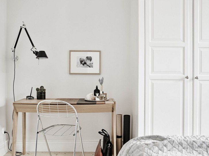интерьер комнаты в скандинавском стиле - фото