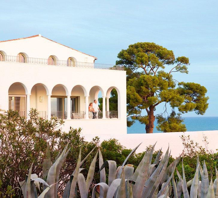 загородный дом в средиземноморском стиле - фото