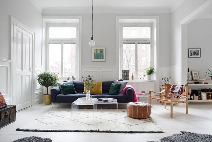 Скандинавский стиль в интерьере - фото