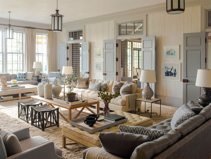 American Style In Interior Design Embodiment Of Freedom In