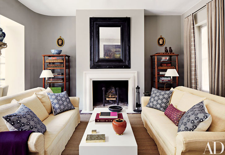 American Interior Design Is Closely Connected To English Style, Since The  British Were The First To Emigrate To This Territory.