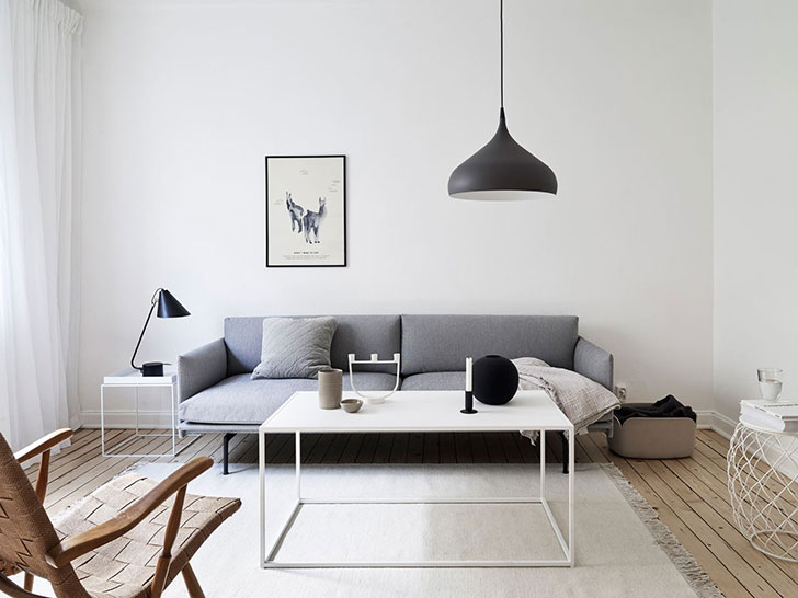 Minimalist style in interior design: less of details means ...