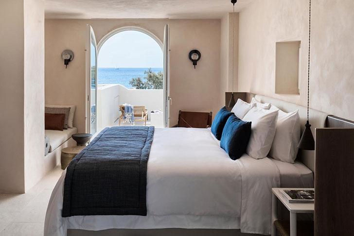 Istoria Hotel на Санторини: традиционный кикладский стиль на современный лад