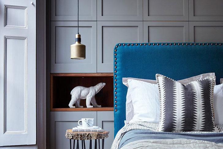 Красивая английская спальня
