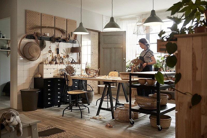 первый взгляд на новый каталог Ikea 2019 фото идеи дизайн