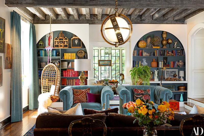 Яркий дом модели Лили Олдридж в Нешвилле