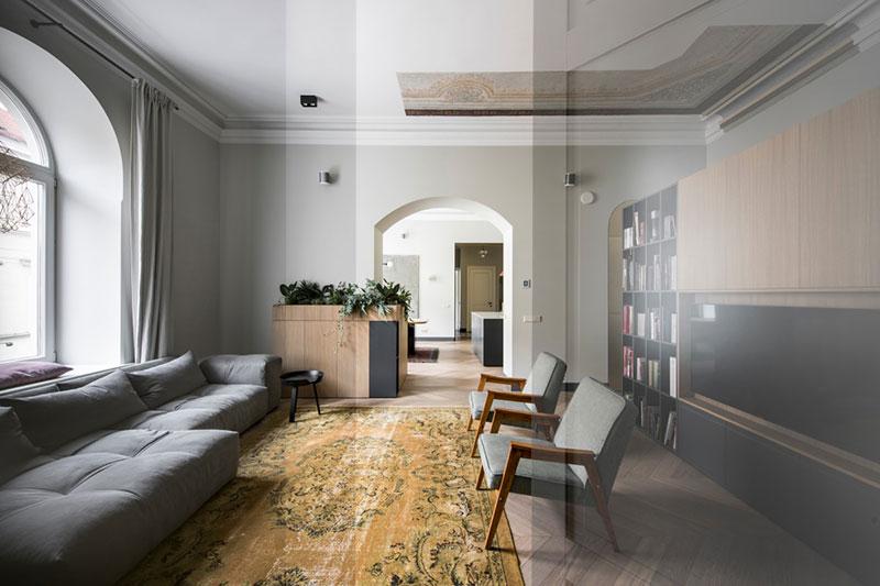 Modern Apartment In Muted Tones In Vilnius PUFIK Beautiful Mesmerizing Apartment Design Online Minimalist